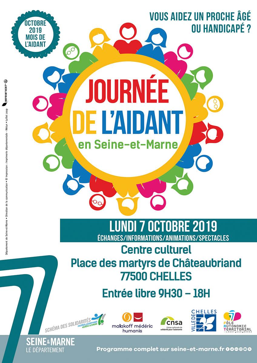 Journée de l'aidant en Seine-et-Marne